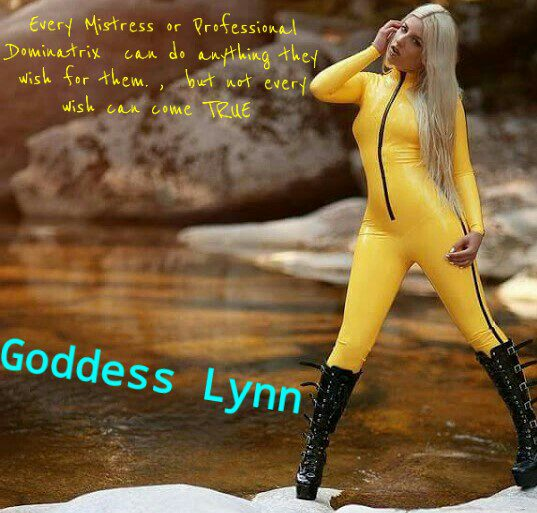 BDSM Stories directed and produced Goddess Lynn